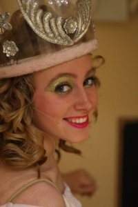 Me as Glinda the Good Witch in Wizard of Oz